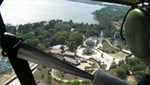 Soarin' Over Winter Haven: Video of helicopter construction tour of Legoland Florida.