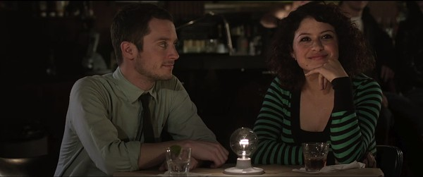 """Setup, Punch""stars Elijah Wood and Alia Shawkat."