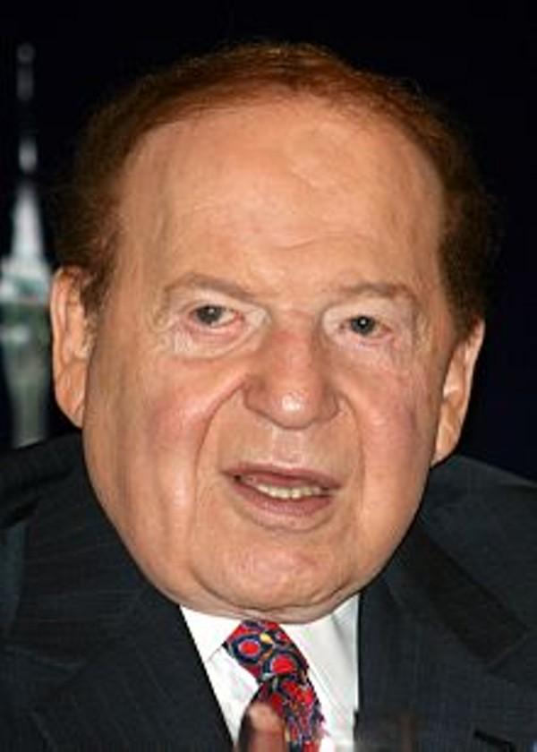 Sheldon Adelson, via wikipedia