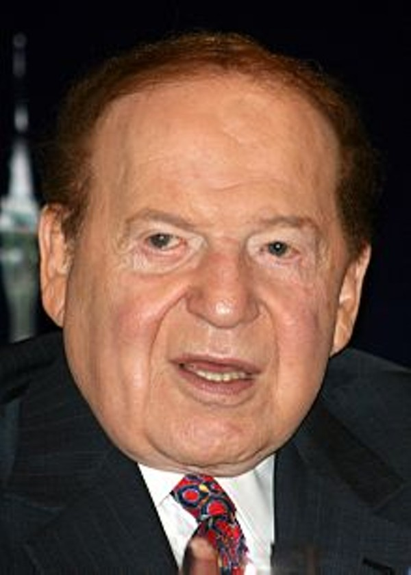Sheldon Adelson, via wikipedia