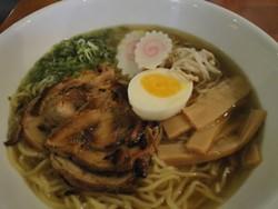 Shio Butter Ramen: the nominated dish.