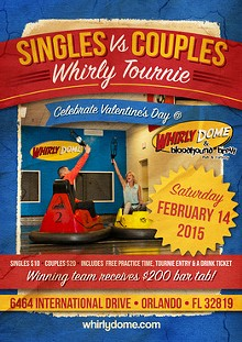 Singles vs Couples Whirlyball Tournament