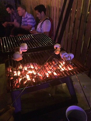 S'mores! - PHOTO BY NICK MCGREGOR