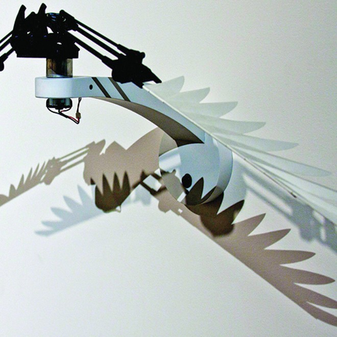 'RESISTANCE,' INTERACTIVE KINETIC SCULPTURE BY RYAN BUYSSENS