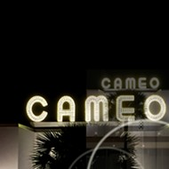 Snap Space lights up the Cameo sign for the first time in 75 years at We Are One