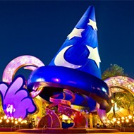 Sorcerer's hat at Disney's Hollywood Studios is coming down today