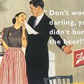Beer advertisements from the olden days