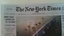 SUNDAY NYT REPORT: Full Sail, Sunk. It's not an Italian cruise ship, but...