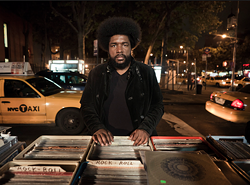 Tables for one: DJ Questlove