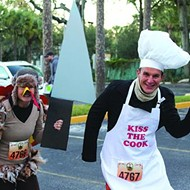 The 25th Annual Turkey Trot gobbles up Lake Eola Park