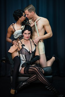 The Abbey turns into the Kit Kat Club for their production of 'Cabaret'