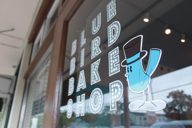 The BBBS storefront at 3122 Corrine Drive. - PHOTO VIA BLUE BIRD BAKE SHOP