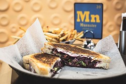 The blackberry melt at Toasted, another good choice - PHOTO BY ROB BARTLETT