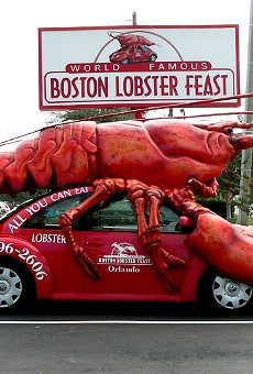 The Boston Lobster Feast 'Lobstermobile' is finally going to a museum
