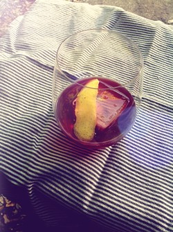 The Boulevardier, remixed. - PHOTO BY JESSICA BRYCE YOUNG