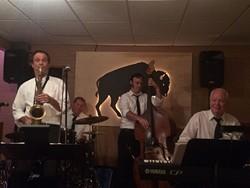 The Chris Charles Quartet at the Smiling Bison