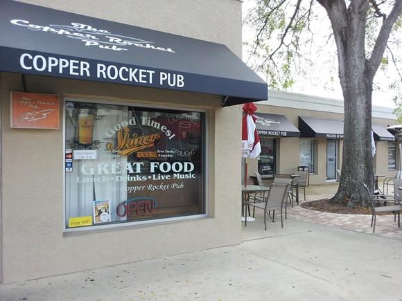 IMAGE VIA THE COPPER ROCKET PUB ON FACEBOOK