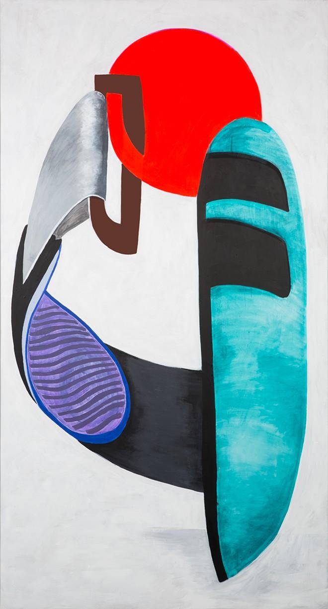 The Family Drone, 2014. Acrylic on canvas. - HAYAL POZANTI