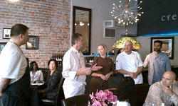 The five chefs were all James Beard Award winners