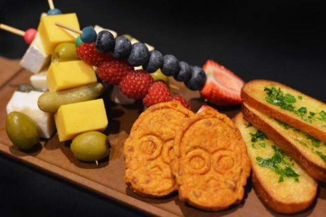 Illum fruit and cheese sabers - VIA WALT DISNEY WORLD