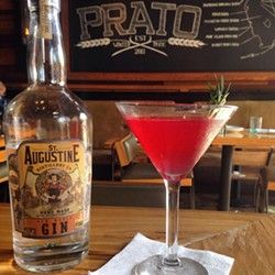 ST. AUGUSTINE DISTILLERY GIN COCKTAIL BY PRATO WINTER PARK