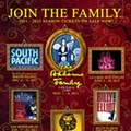 """Join the Family"" with Fairwinds newly-announced 2011-2012 Broadway Across America Series"