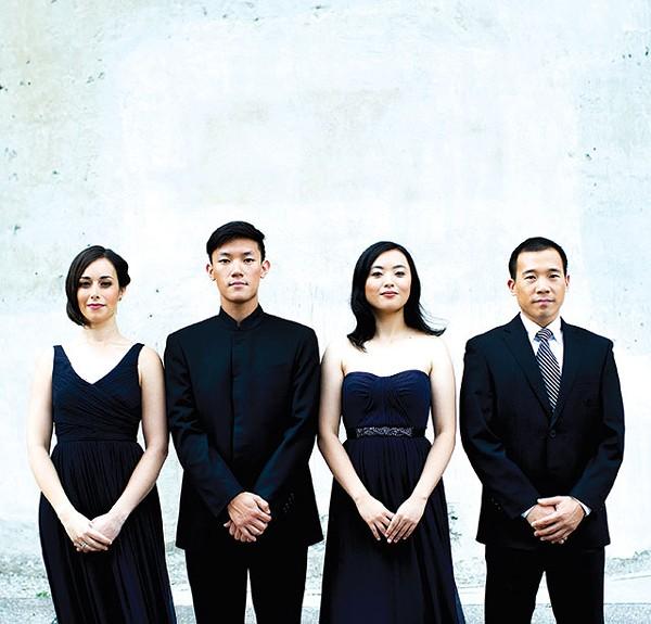 The Parker Quartet - CAMERON WITTIG