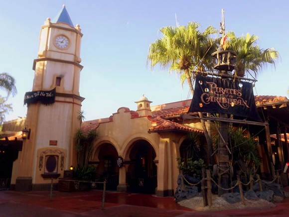The Pirates of the Caribbean ride at the Magic Kingdom - WIKIPEDIA
