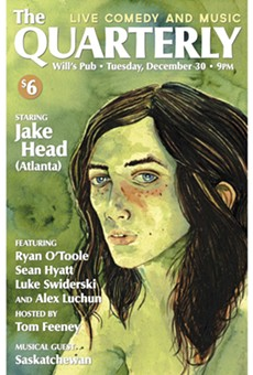 The Quarterly returns to Will's Pub with Jake Head and Saskatchewan