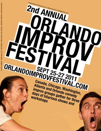 The WHOligans perform at the 2nd Annual Orlando Improv Festival