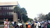 "Third ""Awake the State"" rally held tonight in Orlando, to lukewarm reception"
