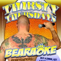 Bears In The City Presents: Thirsty Thursday Bearaoke