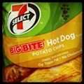7-Eleven hot dog-flavored potato chips: when eating an actual hot dog is just too much work
