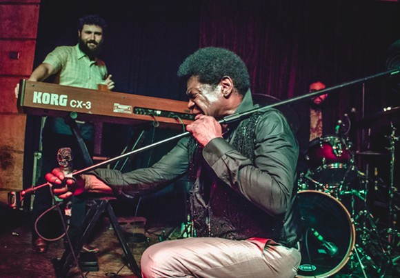 Charles  Bradley at Crowbar - CHRISTOPHER GARCIA