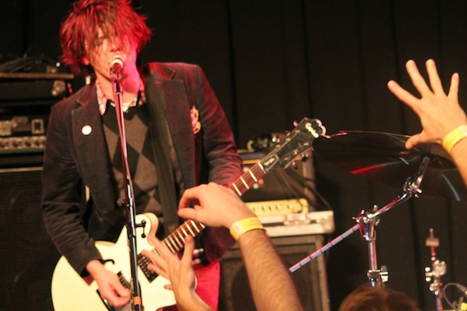 Beach Slang at the Social - ASHLEY BELANGER