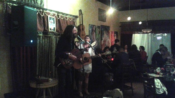 Kelley McRae & Matt Castelein at Maxine's