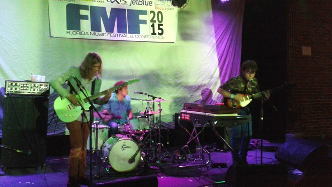The Woolly Bushmen at Florida Music Festival 2015