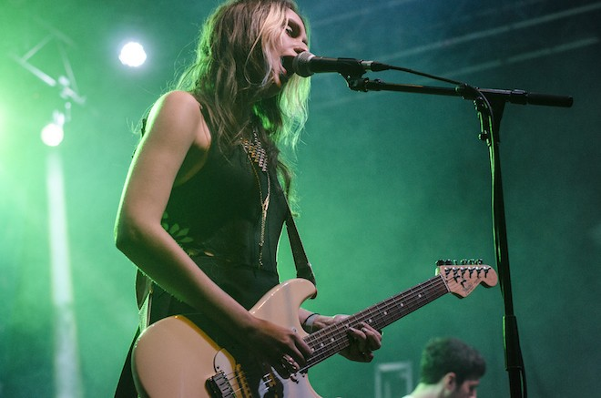 Speedy Ortiz at the Beacham - IANCARLO SUAREZ