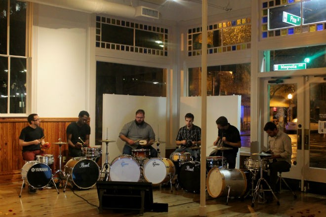 Thad Anderson's sextet at the Gallery at Avalon Island - ASHLEY BELANGER