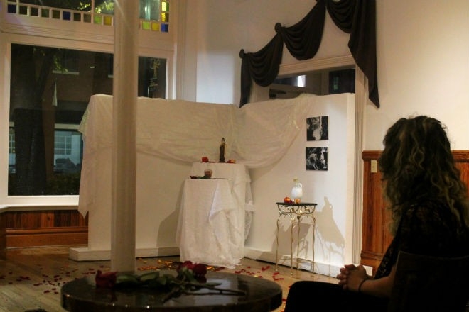 Ashley Inguanta's installation at the Gallery at Avalon Island - ASHLEY BELANGER