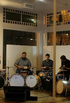 Thad Anderson's sextet at the Gallery at Avalon Island