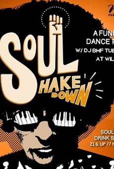 This Little Underground: Tue night postscript (Soul Shakedown w/DJ BMF @ Will's)
