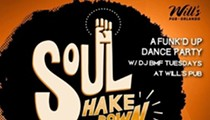 This Little Underground: Tue night postscript (Soul Shakedown w/DJ BMF @ Will's)