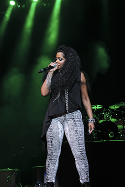 Trinere at Amway Center (photo by Will Ogburn/You're Whatz Happening)