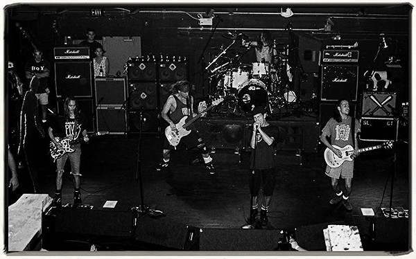 Pearl Jam performs at the Edge - PHOTO BY JIM LEATHERMAN