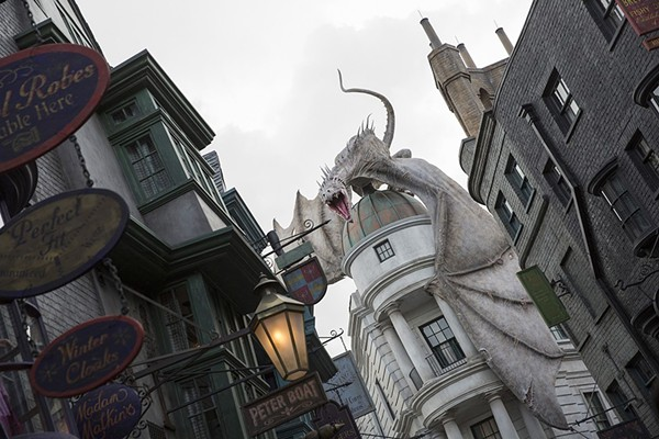 Wizarding World of Harry Potter - PHOTO COURTESY OF UNIVERSAL STUDIOS