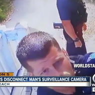 Florida police officers caught disconnecting suspect's surveillance cameras