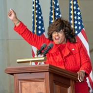 Former Florida Rep. Corrine Brown officially reported to prison today
