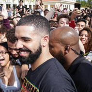 Drake filmed his music video for 'God's Plan' at a Florida high school yesterday