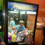 Florida boy climbs into claw machine to retrieve toy and gets stuck